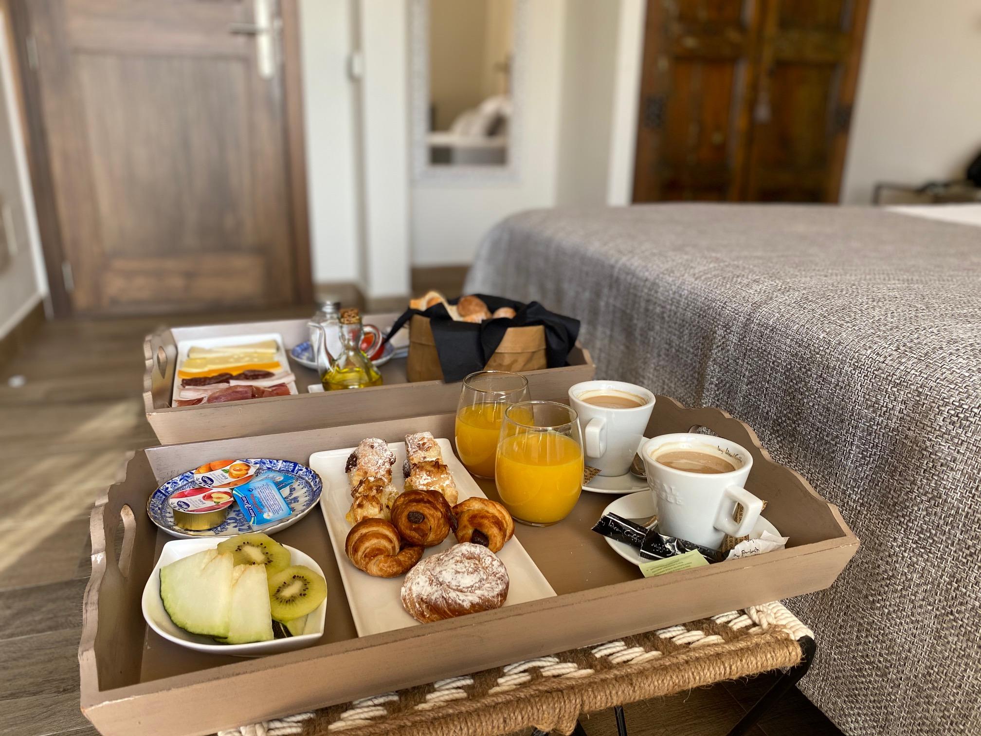 Customised breakfast